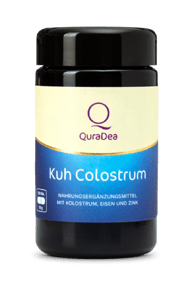 cow colostrum with iron and zinc